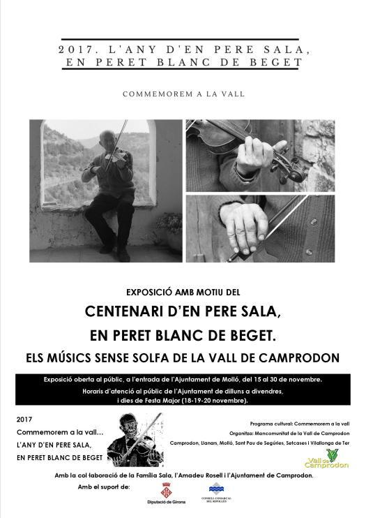 expoMOLLÓ_COMMEMOREM 2017 PERET BLANC